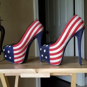 Shoes. 4th of July